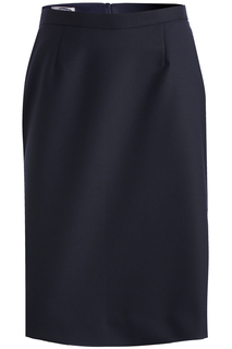 Edwards Ladies Wool Blend Straight Skirt-Edwards