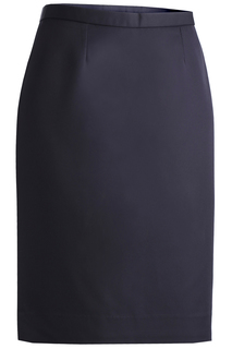 9792 Edwards Ladies Microfiber Straight Skirt-Edwards