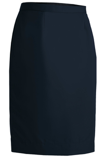 Edwards Ladies Polyester Straight Skirt-Edwards