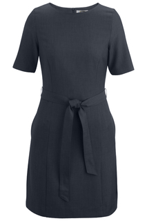 Edwards Ladies Synergy Washable Jewel Neck Dress-Edwards
