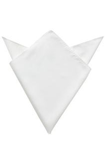 Edwards Solid Pocket Square - Unisex-Edwards