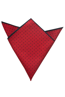 Edwards Polka Dot Pocket Square - Unisex-