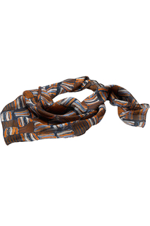Edwards Checkerboard Chiffon Scarf-
