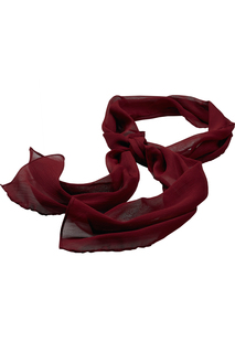 Edwards Solid Crinkle Chiffon Scarf-Edwards