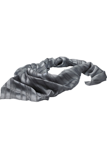 Edwards Solid Satin Mixed Weave Scarf-