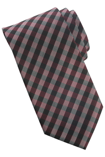 Edwards Collegiate Plaid Tie - Mens-Edwards