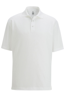 Edwards Mens Snap Front Hi-Performance Short Sleeve Polo