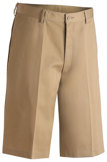 Edwards Mens Utility Flat Front Chino Short