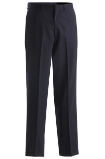 Edwards Mens Pinstripe Flat Front Pant