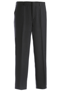 Edwards Mens Microfiber Flat Front Easy Fit Pant