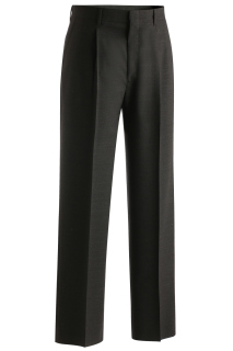 Edwards Mens Wool Blend Pleated Dress Pant-EG