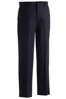 Edwards Mens Lightweight Wool Blend Flat Front Pant