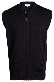 Edwards Full-Zip Heavyweight Acrylic Sweater Vest