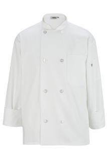 Edwards 8 Button Long Sleeve Chef Coat