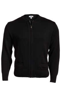 Edwards Full-Zip Heavyweight Acrylic Sweater