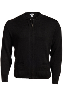 Edwards Full-Zip Acrylic Sweater