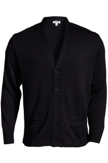 Edwards V-Neck Button Heavyweight Acrylic Sweater