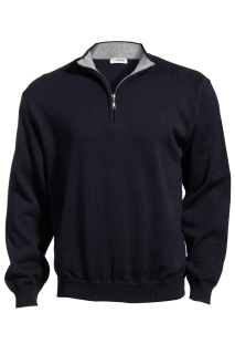 Edwards Quarter-Zip Acrylic Sweater