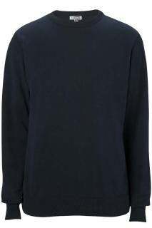 Edwards Crew Neck Cotton Blend Sweater