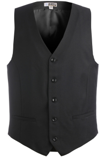 Edwards Mens Synergy Washable High-Button Vest