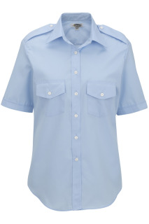 Edwards Ladies Short Sleeve Navigator Shirt-Edwards