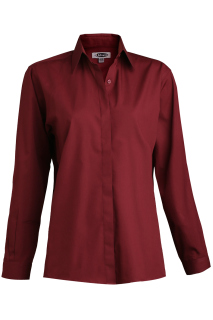 Edwards Ladies Cafe Shirt-Long Sleeve