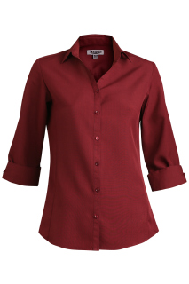 Edwards Ladies Batiste 3/4 Sleeve Blouse
