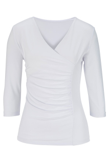 Edwards Ladies 3/4 Sleeve Crossover Knit Top