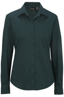 Edwards Ladies Cottonplus Long Sleeve Twill Shirt