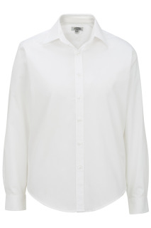 Edwards Ladies Pinpoint Oxford Shirt - Long Sleeve