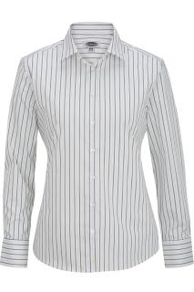 5983 Edwards Womens Long Sleeve Patterned Dress Shirt