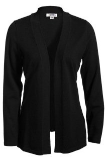 Edwards Ladies Open Cardigan Sweater