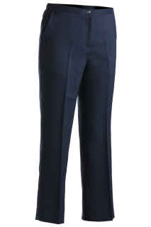 Edwards Ladies Polyester Flat Front Pant