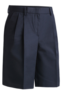 Edwards Ladies Business Casual Pleated Chino Short