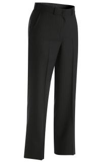 Edwards Ladies Pinstripe Flat Front Pant