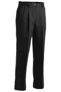 Edwards Ladies All Cotton Pleated Pant