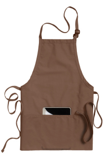 Edwards 3-Pocket Bib Apron