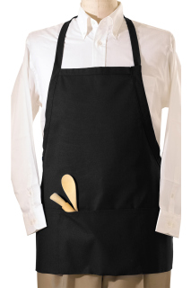 Edwards 3-Pocket E-Z Slide Bib Apron-Edwards