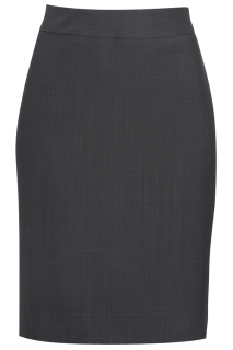 Edwards Ladies Intaglio Microfiber Straight Skirt