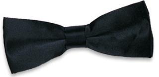 Edwards Satin Bow Tie