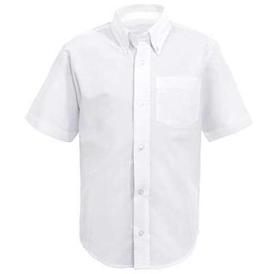 Boys Oxford- Short Sleeve Shirt -French Toast