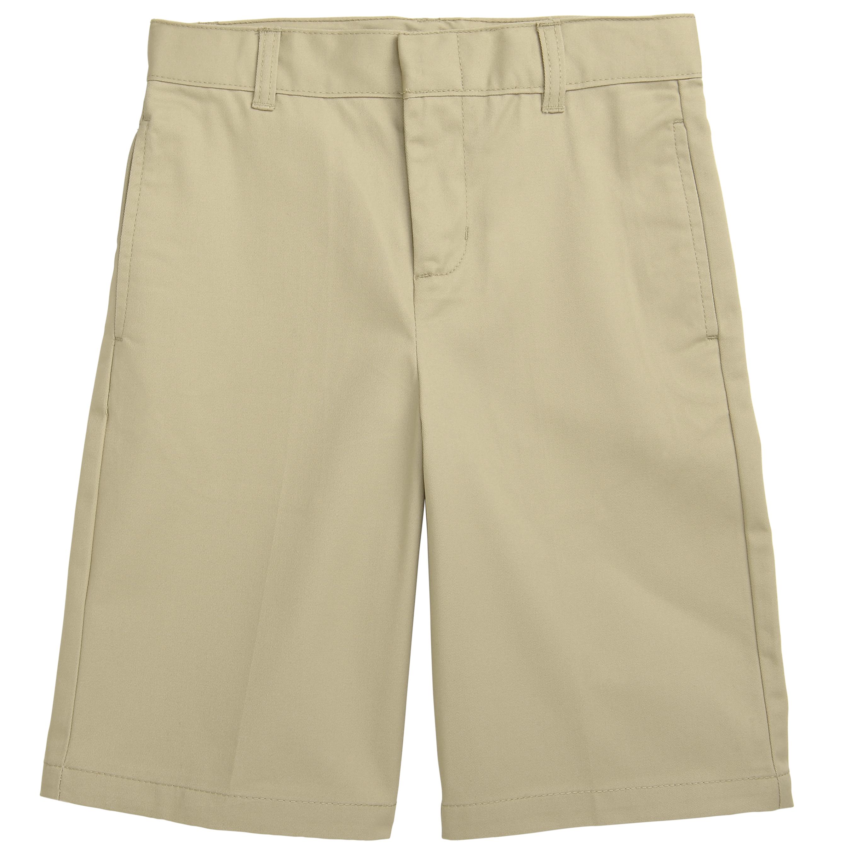 Boys Khaki Shorts-French Toast