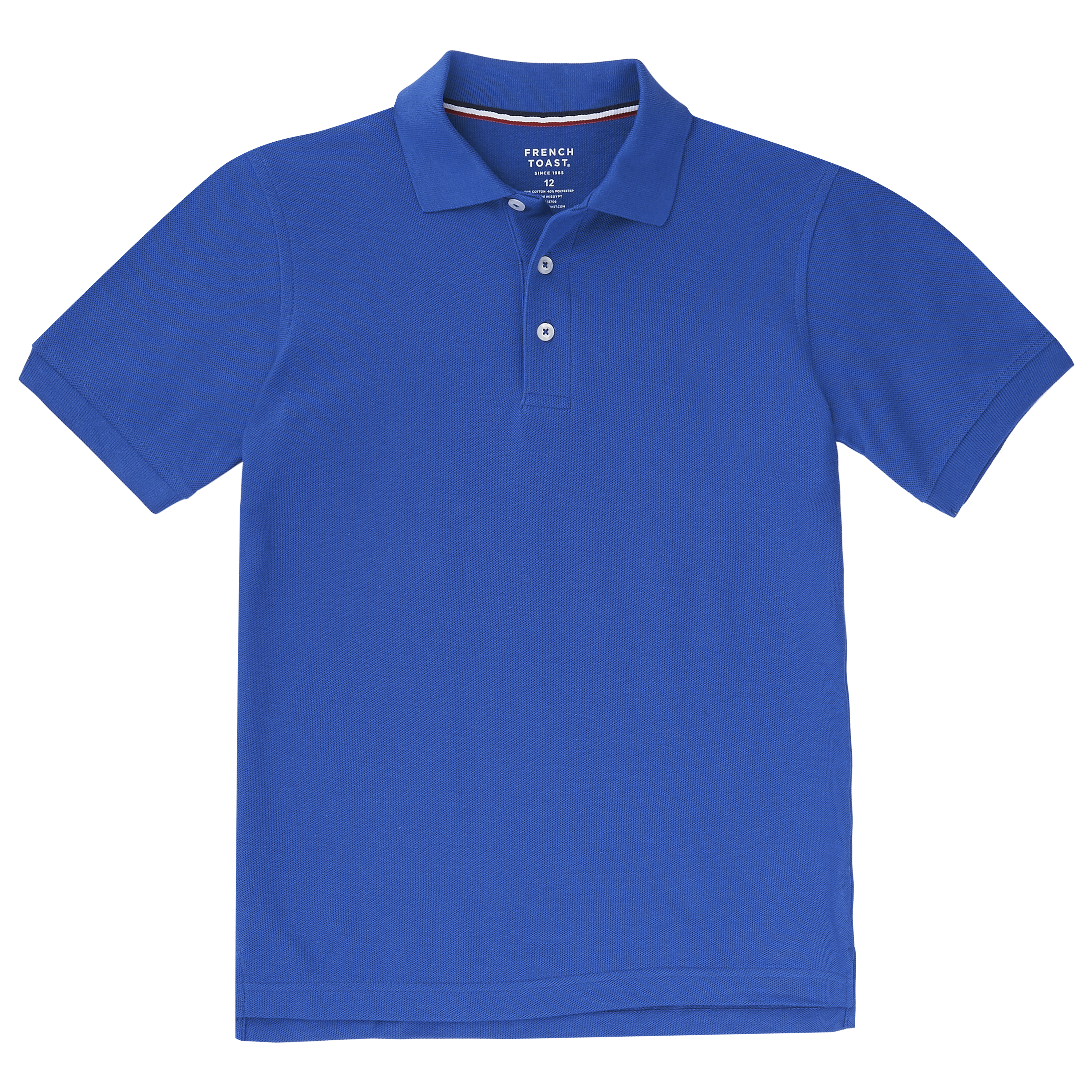 Boys Royal Blue Polo (Youth and Adult Sizes)