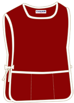 Maroon with 3 pockets