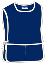 Navy with 2 pockets