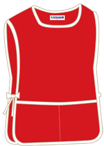 Red with 2 pockets