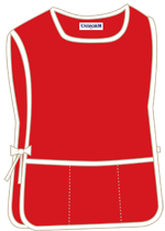 Red with 3 pockets