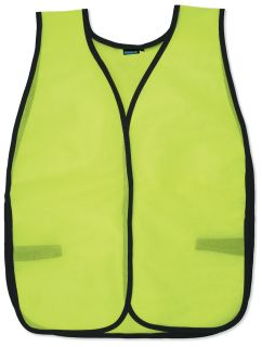 14098 S19 Non ANSI Mesh Hi Viz Lime OSFM-ERB Safety