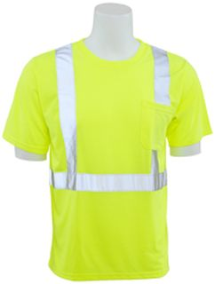 14113 9601S Class 2 T Shirt Short Sleeve XL-ERB Safety