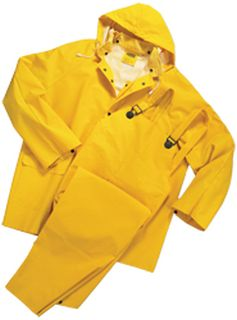 14352 4035 Non ANSI Rain suit 3pc XL-ERB Safety